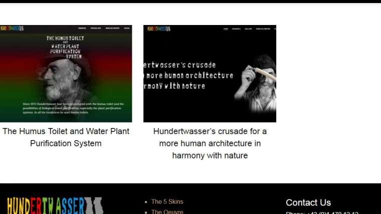 Minisites Hundertwasser